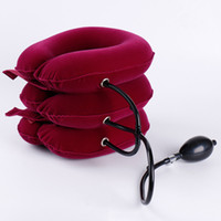 Velvet Neck Traction Soft Comfort Brace Device Unit for Head...