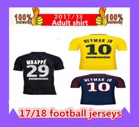 Thai quality 17 18 PSG shirt suits NEYMAR JR soccer jerseys ...