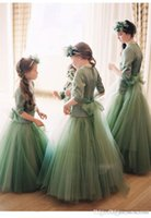 2017 Luxury Flower Girls Dresses Lolita Pageant Party Birthd...