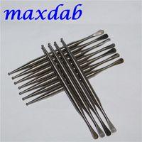 أدوات يدوية التيتانيوم dabber gr2 تي مسمار dabbing أداة قصيرة التيتانيوم dab للزجاج bongs أنابيب الشمع الجافة العشبية البخار القلم dabbers