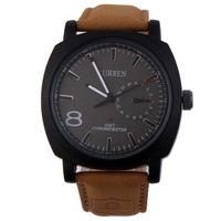 Heiße neue Verkauf Militärarmee Quarz-Armbanduhr CURREN Lederband Sport wasserdichte Uhr mit 4 Farben zur Auswahl