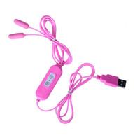USB Style Vibratore Uretrale Maschio Pene Vibrante Piercing Plug Femminile Vagina Massager Catetere Anale Uomini Uretra Dilatatore Giocattolo Del Sesso