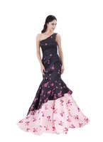 Modabelle 여성용 이브닝 드레스 고급 맞춤형 정장 원피스 인쇄 된 인어 공주 복장 로브 드 소래