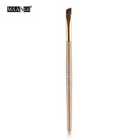 1Pcs Soft Angled Flat Tops Eye Makeup Brush For Party Salon ...