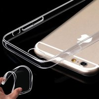 Für 7 Plus iPhone 7 Telefon Fall 6S Plus klar TPU 0.3MM Ultra Thin Soft Case für Samsung Galaxy Note 7 ON5 LG G5 zurück Abdeckung Soft Case Cover