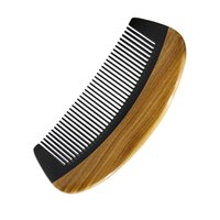 Small Horn Wood Pocket Comb Beard Comb Wholesale High Qualit...