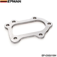 EPMAN Turbocharger Turbine Outlet Flange For Toyota Celica GT4 MR2 CT26 3S-GTE 6 Bolt Turbo to Downpipe EP-CGQ110H