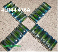 4000 adet 4LR44 476A L1325 A28 6 V Alkalin pil + 400 blister kartları LR44 düğme hücre 1.5 v + 1000 ADET 23A 12 v Piller