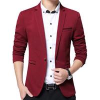 Wholesale- DARO uomo Fashion Dress Blazer Men Suits Men Spring&Autumn Outerwear Business Wedding Party Suits DR
