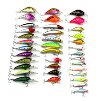 37pcs of Bionic Topwater Fishing Lure Mixed Size Plastic Art...
