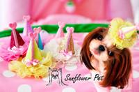 Precioso sombrero de diseño, perro, mascota, pinzas para el cabello, horquilla, accesorios hechos a mano, artículos de aseo 30