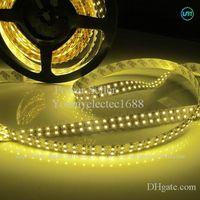 Luz de tira SMD 3528 1200 LED de 5M 12V Blanco cálido Blanco fresco Luz LED no impermeable DHL nave