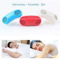 Multi-funcional Dispositivo Anti Ronco Purificador de Ar Aliviar O Ronco Dispositivo de Parar de Dormir Aid Mini Dispositivo Ronco