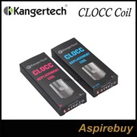 Kanger CLOCC Spulen CLOCC Zerstäuberkopf SS 316 0.5ohm und Ni200 0.15ohm für Kanger CLTANK SS316 Spulen Arbeiten an 15W-60W NI200 im TC Mode Genius