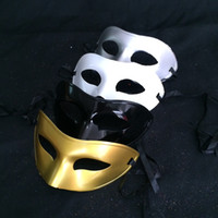 Direct Festival Dance Mask Painted Flat Head Mask Man Masker Sir Effen Masker