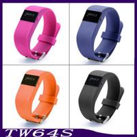 TW64S ile Akıllı Bilezik Kalp Hızı Tracker Su Geçirmez Bluetooth Akıllı Saatler Spor Bileklik Spor Smartband Pedometre 6500022-1