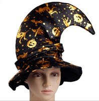 Halloween decorations dance party hat witch witch pumpkin ha...