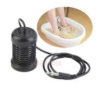 Livraison gratuite en acier inoxydable ionique ionique nettoient pour Detox Foot Bath Machine Detox Array pied spa utilisation 40-50 fois