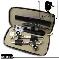 Ciseaux de cheveux Smith Chu Ciseaux de coupe et ciseaux d'éclaircissement Kits professionnels 6.0inch, Nouveaux ciseaux Kit Kit de coiffure de soin des cheveux