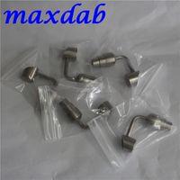 Ручные инструменты Titanium Nail Body Buckets Ti Nights 14 мм 19 мм 90 градусов с мужским суставом Corth2 GR2 для стеклянного бонга