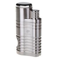 КОИБ высокое качество мода ветрозащитный Факел Jet Flame многоразового надувные четыре пламени зажигалки сигары Punch легче