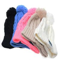 أعلى جودة الطبقة الحياكة ماكارونس قبعة قبعة صغيرة بلوتوث اللون الوردي مع قبعة الموسيقى سماعة بلوتوث