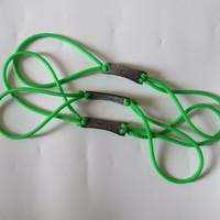 5 조각 고무 옥외 사냥 Slingshot를위한 녹색 자연적인 유액 보충 고무 악대 투석기 고무 Slingshot sinews
