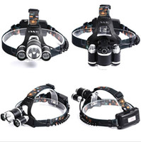 5000LM XML- T6+ 2xR5 LED HeadLamp Waterproof Headlight head li...