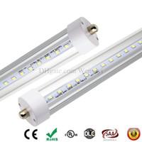 8 피트 LED 전구 튜브 라이트 단일 핀 2.4M LED 형광 튜브 FA8 1 핀 SMD2835 48W 6000LM AC 85-265V 2400mm