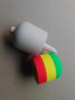 50pcs Pill Pill Shape Kendama Ball Funny Bahama Tradizionale Gioco di legno Giocattolo Competenze Bambini Adulto educativo