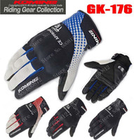 2016 Newest Japan KOMINE Moto knight racing gloves motorcycle cycling gloves can touch GK-176 DROP have 4 colors