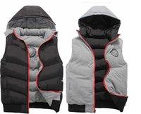 2018 hohe Qualität Männer Frühling Herbst neue doppelseitige tragen Baumwolle Weste modisch lässig Oberbekleidung Mäntel Weste Weste dickere Jacke