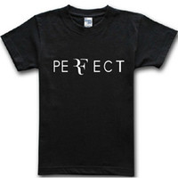Roger Federer Tennis Perfect RF Printed Mens T Shirt Sport G...