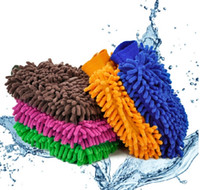 New Great Mitt Microfiber Car Window Washing Home Cleaning C...