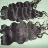 bulk Brazilian Hair 20pcs Brazilian body wave Extension processed Human Hair Weave cheapest wefts