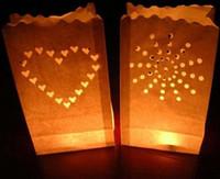 Новые прибытия украшения DIY ручной бумаги Фестиваль фонарей украшение свеча мешок со свечой