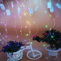 أدى عطلة مصباح سلسلة زر البطارية سلسلة ضوء داخلي الديكور مصباح سلسلة الخرز 20 مرحلة قاعة