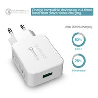 Dodocool Qualcomm Quick Charge 3.0 18W ignifuge ABS compact portable portable USB Wall Charger DA56