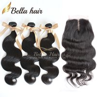 Brazilian Hair Top Closures(4x4) Middle Part Lace Closure Wi...