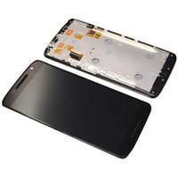 Display LCD Digitizer para Motorola Moto X Reproduzir XT1562 XT1563 XT1565 Com Frame Assembly substituição preto