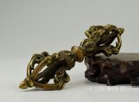 Saf bronz enstrüman trompet King Kong pestle antik yapmak için eski gizli tarifi şehir evi iblis havaneli