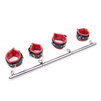 섹스 BDSM 속박 손목 발목 팔목 여성용 Satinless Steel Spreader Bar