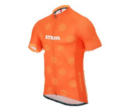 Al por mayor-strava 2016 Pro equipo transpirable ciclismo Jerseys verano quiack seco ropa de la bicicleta envío gratis
