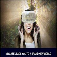 핫 세일 3D 안경 Google Cardboard 가상 현실 케이스 5th 고품질 기어 VR 박스 헤드셋 BOX 무선 리모컨 1set / lot