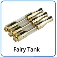 Newest C BD tank glass Gold ceramic coil wickless oil cartri...