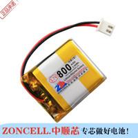 В 800mAh 3.7 V полимерная литиевая батарея 403035*2 Игрушка GPS звуковая карта 482833*2