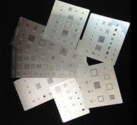 9pcs BGA трафареты шаблон для iPhone6 6 плюс 4gs 3S 3g 5g 5C 5s 6sp прямой тепла