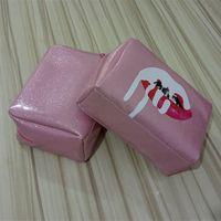2018 تعزيز وصول جديد Pxf002 زيبر الوردي حقيبة ماكياج ارتفاع درجة الفضة الترتر مستحضرات التجميل أدوات الزينة كبيرة اليد السعة التخزينية للماء