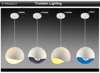 프로모션 펜던트 램프 디자인 라운드 화이트 천장 실내 금속 장식 북유럽 아메리칸 빈티지 드롭 라이트 빛
