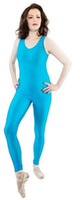 Sexy Catsuit Dance Ballet Childs Womens Adults Plain Lycra C...